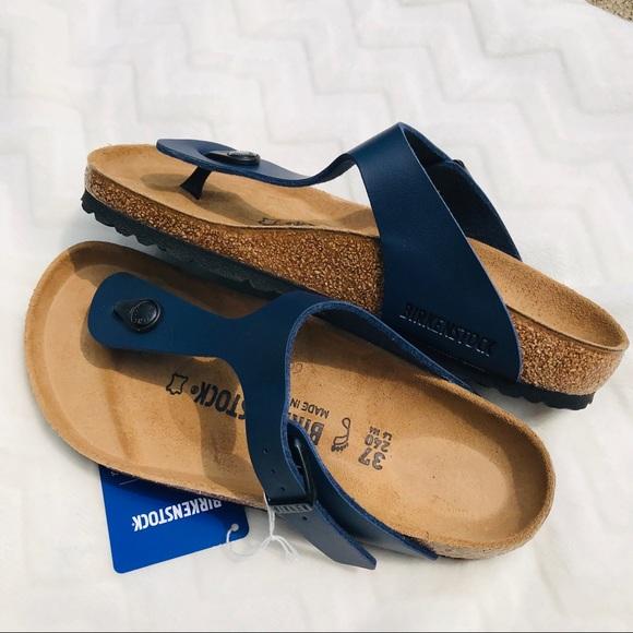 regnkappa behaglig presentation  Birkenstock Shoes | S Gizeh Bs Regular Fit Blue 37 Nwt New | Poshmark